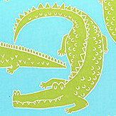 Scion In a while Crocodile Citrus / Lagoon Fabric
