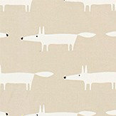 Scion Little Fox Snow Fabric