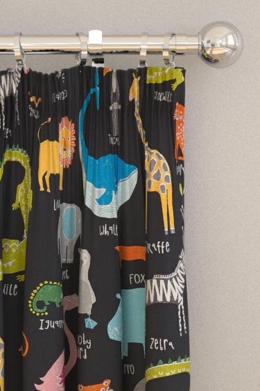 Scion Animal Magic Tutti Fruitti / Blackboard Curtains - Product code: 120468
