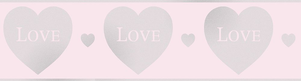 Albany Love Pink Border - Product code: DLB50153
