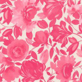 Clarke & Clarke Caitlin Raspberry Wallpaper - Product code: W0066/05