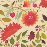 Clarke & Clarke Jaipur Multi-coloured Wallpaper - Product code: W0070/01