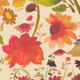 Clarke & Clarke Martine Multi-coloured Wallpaper - Product code: W0071/01