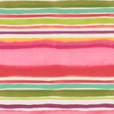 Clarke & Clarke Sunrise Stripe Multi Wallpaper - Product code: W0076/02
