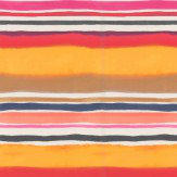 Clarke & Clarke Sunrise Stripe Spice Wallpaper