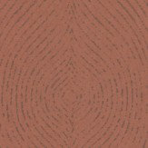 Casadeco Geometric Curve Copper Wallpaper - Product code: 26789217