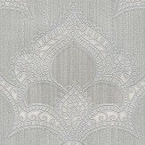 Albany Marrakech Silver Wallpaper