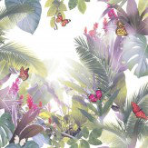 Arthouse Amazonia Lavender Wallpaper