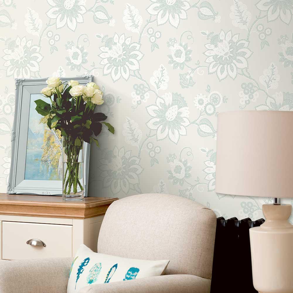 Eva Wallpaper - Cornish Cloud - by Albany