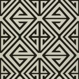 Thibaut Demetrius Black Wallpaper - Product code: T24305