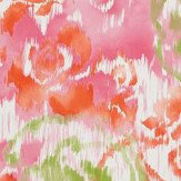 Thibaut Waterford Floral Pink Wallpaper