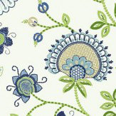 Thibaut Portofino Blue Wallpaper - Product code: T24369