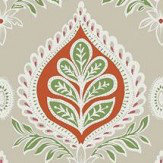 Thibaut Midland Pink Wallpaper - Product code: T24315