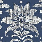 Thibaut Tanglewood Navy Wallpaper - Product code: T24371