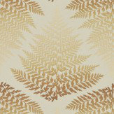 Clarissa Hulse Filix Gold / Bronze Wallpaper