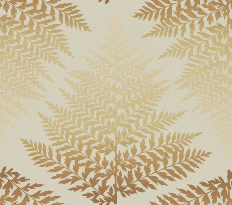 Clarissa Hulse Filix Gold / Bronze Wallpaper main image