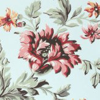 Sandberg Rosenholm Turquoise Wallpaper