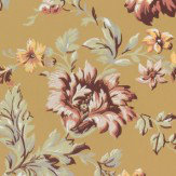 Sandberg Rosenholm Dark Yellow Wallpaper