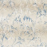 Clarissa Hulse Meadow Grass Gilver / Cream Wallpaper