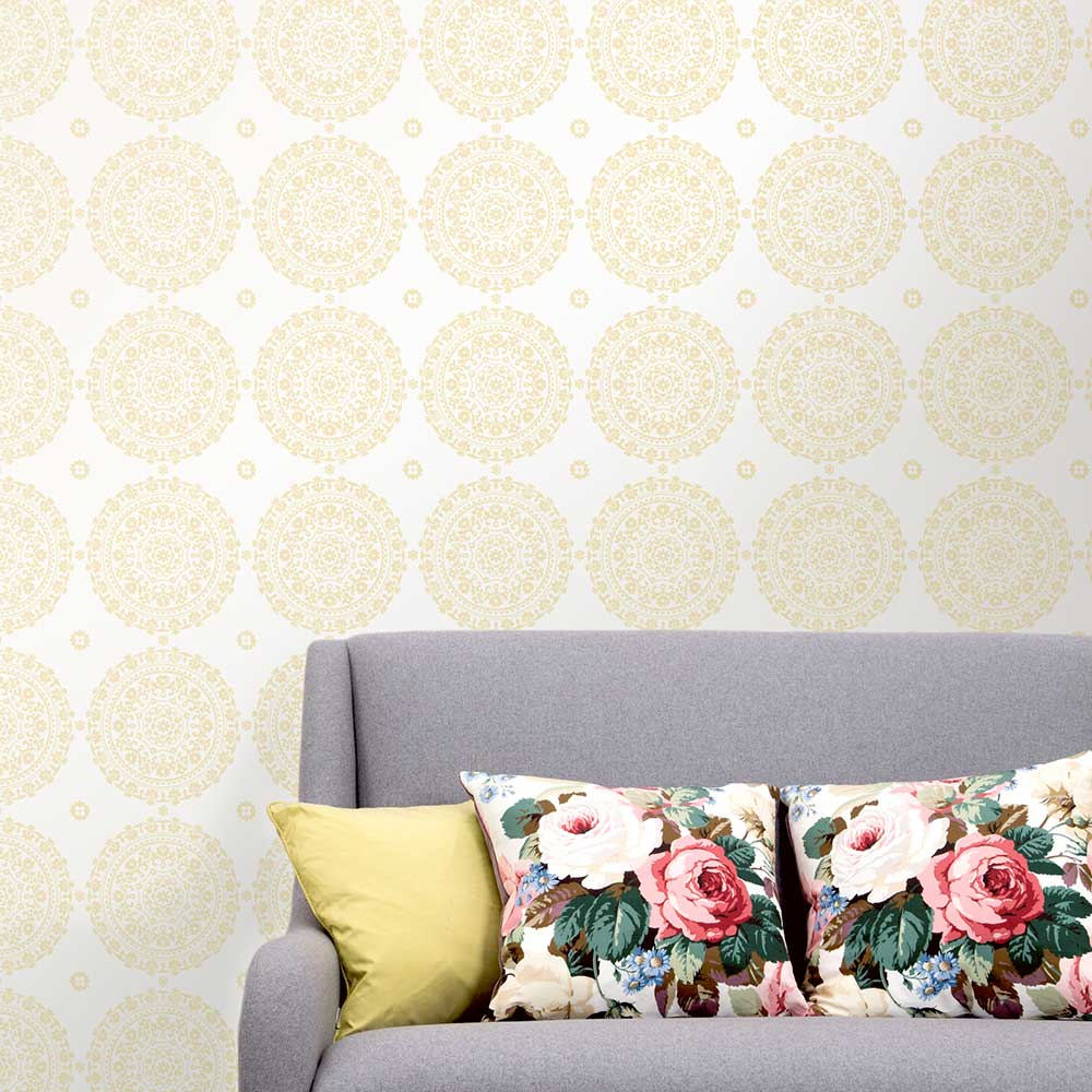 Albany Mia Withdean White Wallpaper - Product code: CB41500