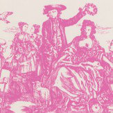 Albany Toile Moreton Pinkney Wallpaper