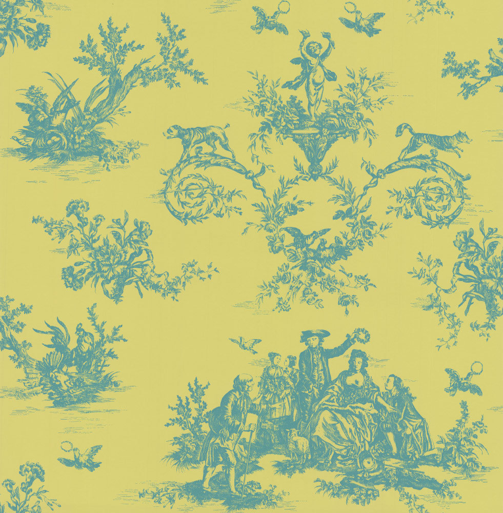 Albany Toile Litlington Wallpaper main image