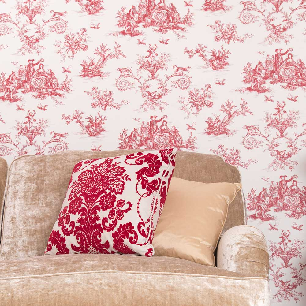 Albany Toile Berry Head Wallpaper - Product code: CB3004