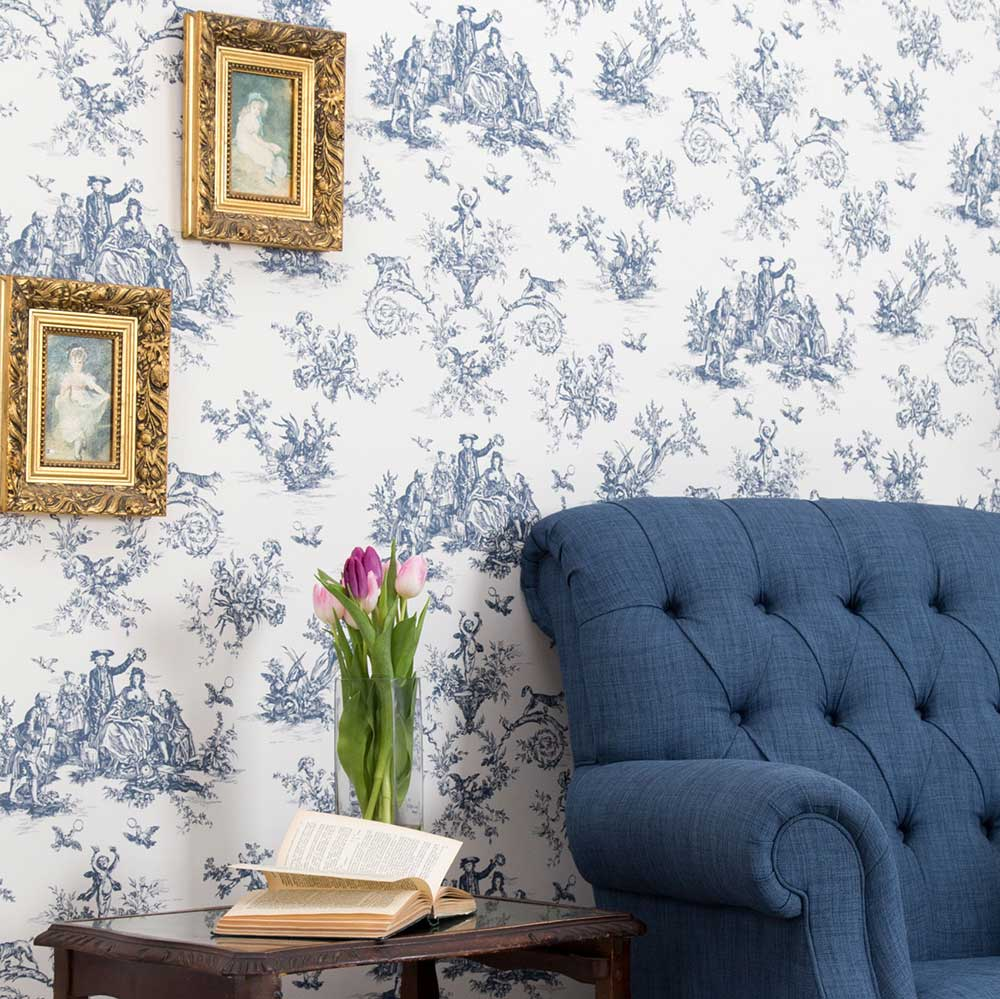 Albany Toile Highbrook Wallpaper - Product code: CB3010