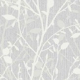 Arthouse Bosco Silver Wallpaper