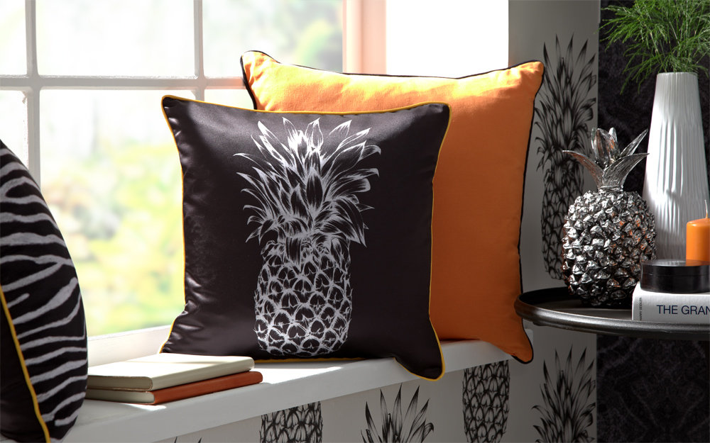 Arthouse Copacabana Cushion Black - Product code: 008315