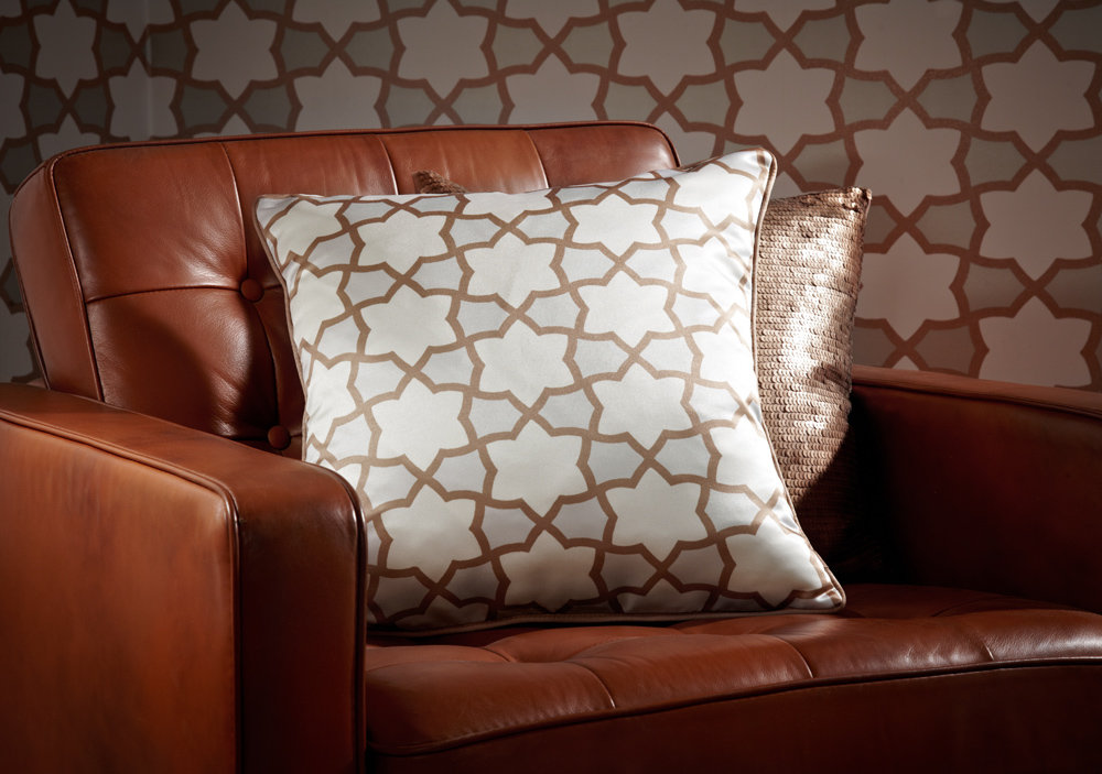 Arthouse Copacabana Cushion Golden - Product code: 008322