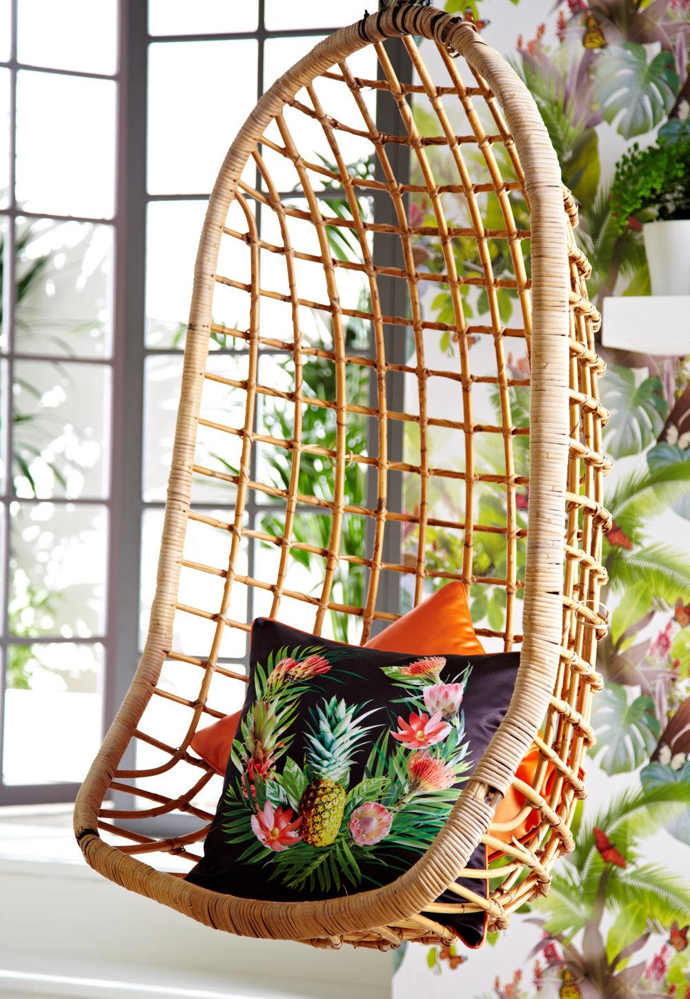 Amazonia Cushion - Black - by Arthouse