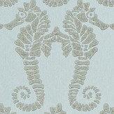 Barneby Gates Seahorse Eau de Nil Wallpaper - Product code: BG1400102