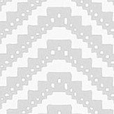 Barneby Gates Chevron Pale Grey Wallpaper