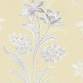 Sandberg Solbacken Yellow Wallpaper - Product code: 409-22