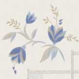 Sandberg Katarina Blue Wallpaper - Product code: 483-46