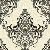 Arthouse Valdina Black / White Wallpaper