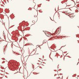 Sandberg Stola Red Wallpaper - Product code: 584-64
