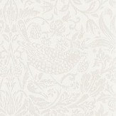 Morris Pure Strawberry Thief Ecru / Cream Wallpaper - Product code: 216020
