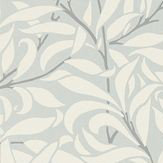 Morris Pure Willow Bough Eggshell / Chalk Wallpaper