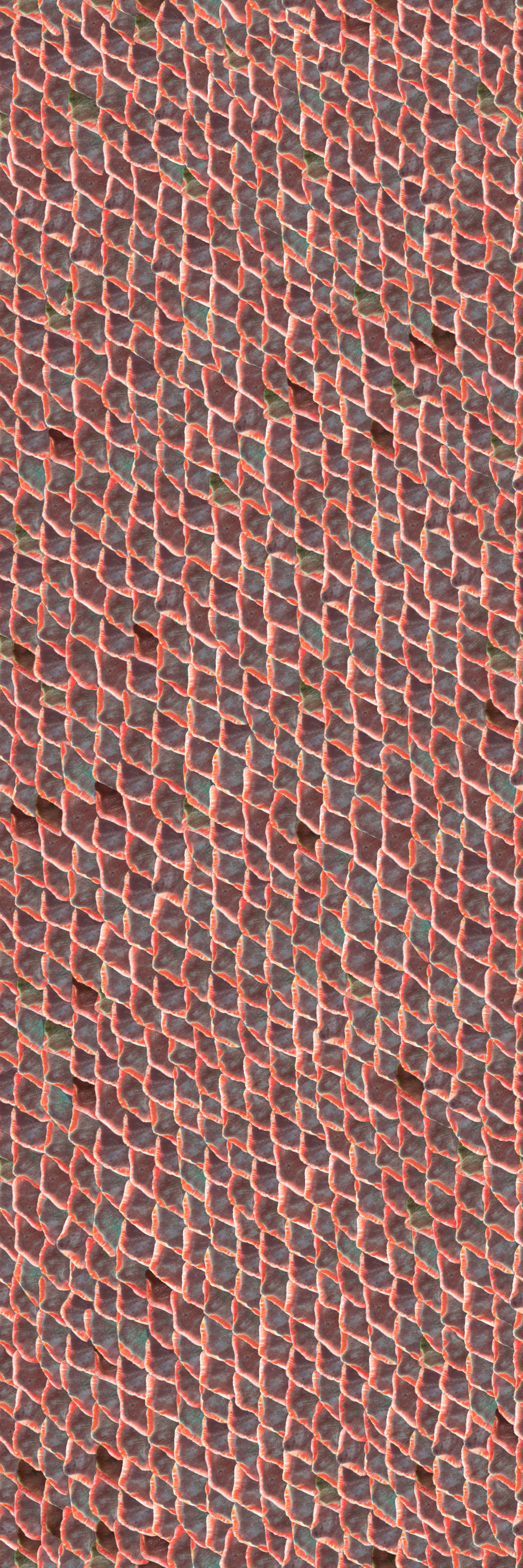 Coordonne Fish Skin Red Wallpaper - Product code: 5800031
