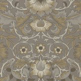 Morris Pure Lodden Taupe / Gold Wallpaper