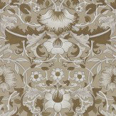 Morris Pure Lodden Gilver / Gold Wallpaper