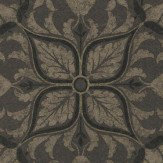 Morris Pure Net Ceiling Charcoal / Gold Wallpaper - Product code: 216036