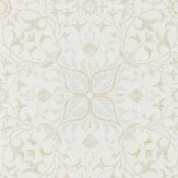 Morris Pure Net Ceiling Cream / Eggshell Wallpaper