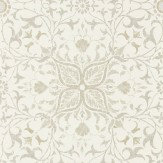 Morris Pure Net Ceiling Ecru / Linen Wallpaper