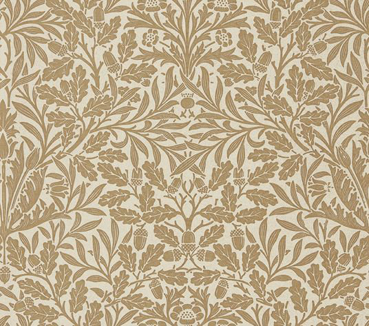Morris Pure Acorn Gilver / Copper Wallpaper - Product code: 216041