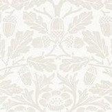 Morris Pure Acorn Ivory / Pearl Wallpaper - Product code: 216044
