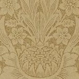 Morris Pure Sunflower Copper / Russet Wallpaper