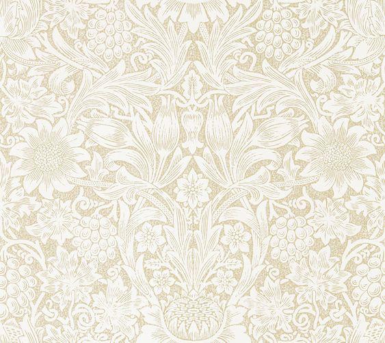 Morris Pure Sunflower Parchment / Gold Wallpaper main image